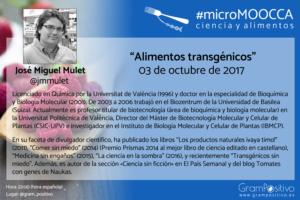 #microMOOCCA - JM Mulet